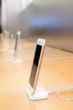 IPhone 6S Plus Różany złoto profilu widok Obraz Royalty Free