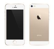 Iphone 5s złoto royalty ilustracja