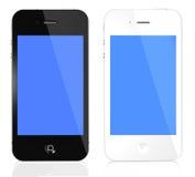 Iphone Schwarzweiss lizenzfreie abbildung