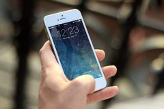 Iphone, Smartphone, Apps, Apple Inc Stock Photography
