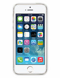Iphone 5 white Vector Royalty Free Stock Images