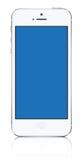 Iphone 5 witte vector Royalty-vrije Stock Afbeelding