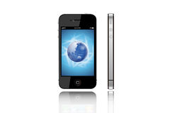 Iphone4 imagem de stock royalty free