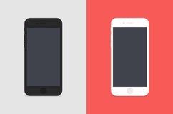 2 IPhones Stock Image