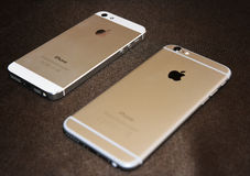 IPhones Royalty Free Stock Photography