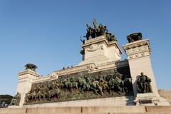 ipiranga纪念碑保罗圣地 库存图片