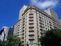 Ipiranga Avenue and São Luís Avenue Royalty Free Stock Photo