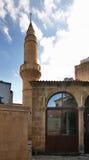 Iplik Pazari清真寺在尼科西亚 塞浦路斯 免版税库存照片