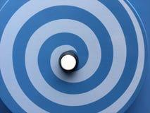 Ipnotizzare il cerchio commovente di allucinazione Immagine Stock