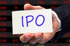 IPO-formuleringar Arkivbilder