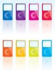 iPod向量 免版税图库摄影