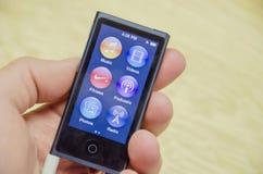 Ipod νανο Στοκ εικόνα με δικαίωμα ελεύθερης χρήσης