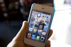 Ipod στη διάθεση στοκ φωτογραφία με δικαίωμα ελεύθερης χρήσης