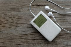Ipod classic generation3 Royalty Free Stock Photos