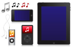 Ipod Music Player MP3 Royalty Free Stock Photography