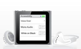 Ipod nano. New apple ipod nano multi-touch vector illustration stock illustration