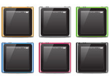 Ipod nano 2010. New apple ipod nano 2010 Stock Photos