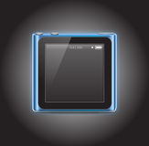 Ipod nano 2010. New apple ipod nano 2010 Royalty Free Stock Image