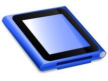 Ipod Nano 2010. Illustration of the new 6th generation ipod nano royalty free illustration