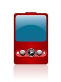 IPod portátil Imagem de Stock