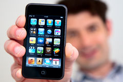 IPod Touch Royalty Free Stock Photos