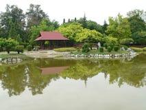 Ipoh-Garten Stockbild