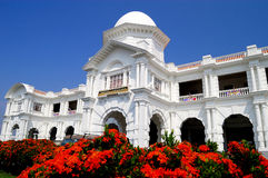 The Ipoh Railway Station. In neo-classical/Edwardian Baroque style nicknamed the Taj Mahal of Ipoh. Located at Old Town in Ipoh, Perak, Malaysia Royalty Free Stock Photo