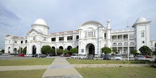 Ipoh Railway Station. The Ipoh railway station is a Malaysian train station located at the south-western side of and named after the capital city of Ipoh, Perak Royalty Free Stock Photo