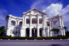 Ipoh Town Hall. An Edwardian Baroque municipal building located across the road from the Railway Station of Ipoh, Perak, Malaysia Stock Images