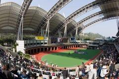 Ippodromo dello stagno di Sha, Hong Kong Fotografie Stock
