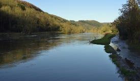Ipsilon del fiume ad alta marea Fotografia Stock Libera da Diritti
