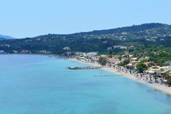 Ipsos beach Corfu Greece Royalty Free Stock Image