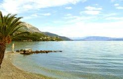 Ipsos Beach in Corfu Royalty Free Stock Photo
