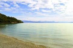 Ipsos Beach in Korfu royalty-vrije stock afbeeldingen