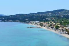 Ipsos strand Korfu Grekland Royaltyfri Bild