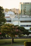 Ipswich Australia, Wtorek, - 16th 2018 Styczeń: Widok Ipswich miasto CBD w popołudniu na Wtorku 16th 2018 Styczeń Zdjęcia Stock