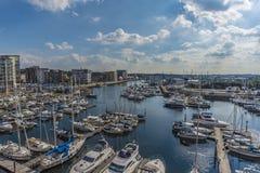 Ipswich-Hafen Stockbilder