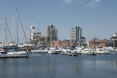 Ipswich waterfront Royalty Free Stock Images