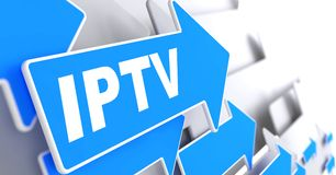 IPTV.  Information Concept. Royalty Free Stock Images