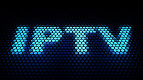 IPTV (Internet Protocol television) Stock Photo