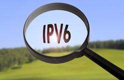 Ipv6 έκδοση 6 πρωτοκόλλου Διαδικτύου Στοκ Φωτογραφίες