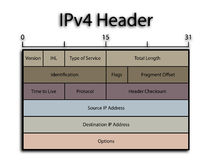 iPv4 chodnikowiec Zdjęcie Stock