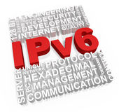 Ipv6 Concept Royalty Free Stock Images