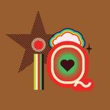 Iq art poster Stock Image
