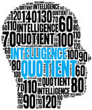IQ or intelligence quotient concept Royalty Free Stock Photo