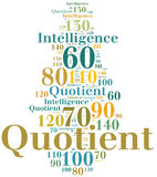 IQ or intelligence quotient concept Stock Photos