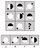 IQ-Prüfung Stockbild