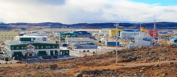 Iqaluit, Canadá fotos de archivo