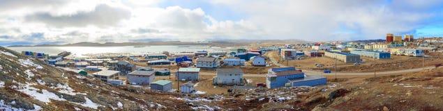 Iqaluit Kanada Arkivbild