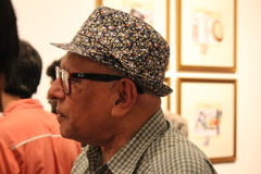 Iqbal Geoffrey Foto de archivo libre de regalías